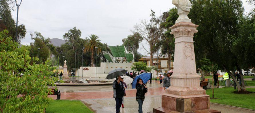 La plaza de Vicuña es abierta a la comunidad elquina en el Día Nacional del Patrimonio