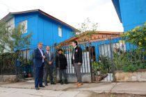 Más de 200 familias en barrios de la región optan al mejoramiento de sus viviendas