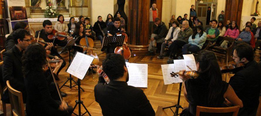 Más de 700 personas de Vicuña y La Serena disfrutaron del I Concierto de Temporada de Cámara 2016