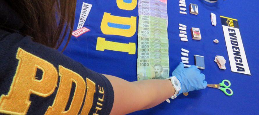 PDI detiene a 3 personas por tráfico de drogas en la comuna de Vicuña