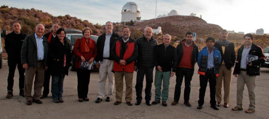 CORE visita observatorio Cerro Tololo y manifiesta preocupación por contaminación lumínica