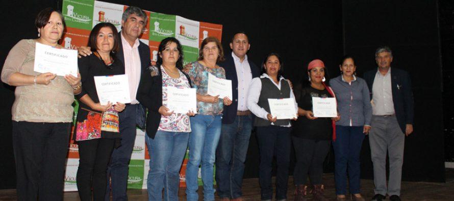 Destacando el egreso de mujeres culmina programa Mujeres Trabajadoras y  Jefas de Hogar