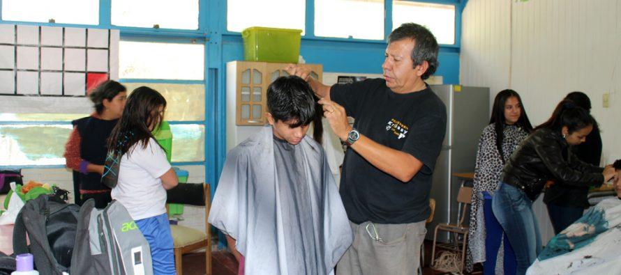 Continúan los operativos de peluquería en la comuna de Vicuña