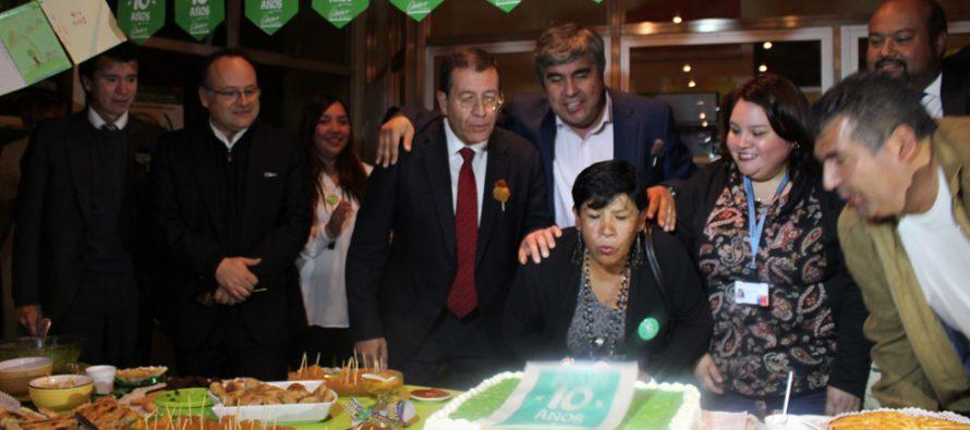 Destacando los logros conseguidos celebran en Vicuña los10 años del Quiero Mi Barrio en el país