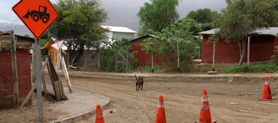 Pavimentaciones en la comuna de Vicuña consideran inversión cercana a los $600 millones