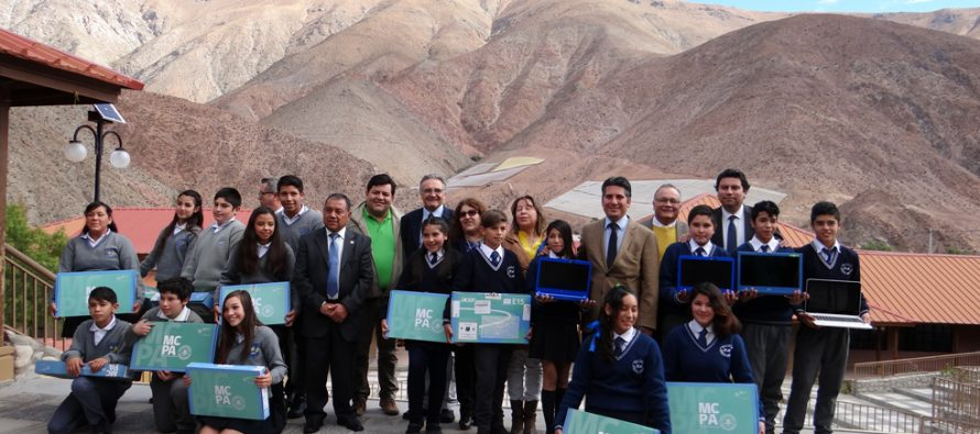 """Con """"Me conecto para Aprender"""" 49 estudiantes de  escuelas de Paihuano logran mayor inclusión digital"""