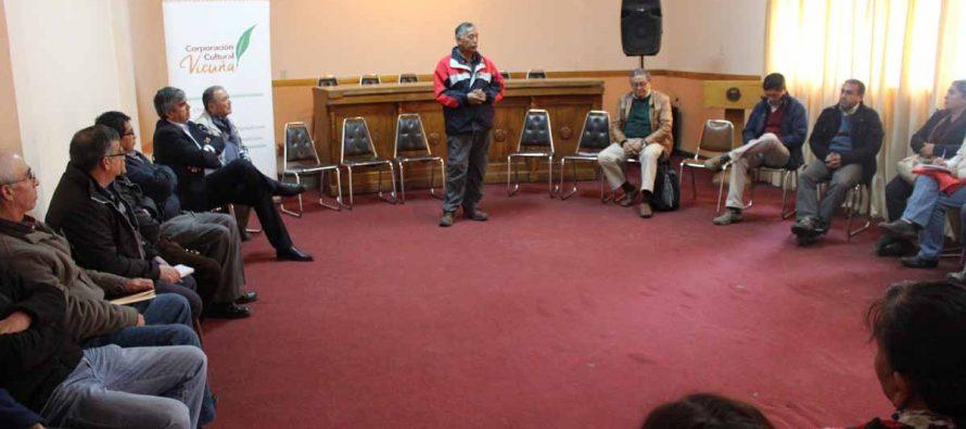 Realizan primera reunión para constituir mesa comunal de Desarrollo Rural en Vicuña