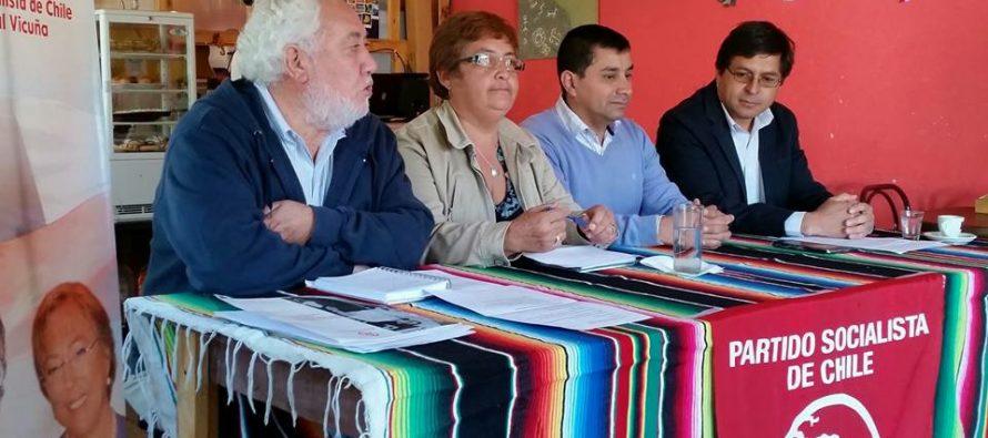 Partido Socialista presenta sus candidatos a concejales para las municipales 2016 en Vicuña
