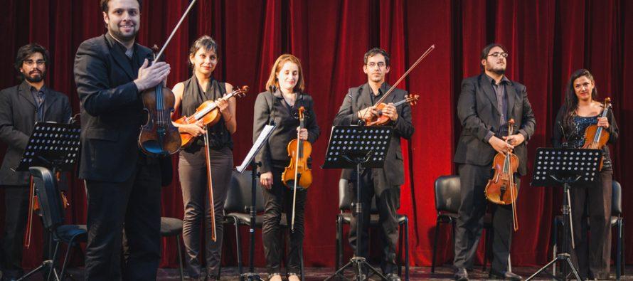 Vicuña será escenario del I concierto de cámara de la Orquesta Sinfónica Universidad de La Serena