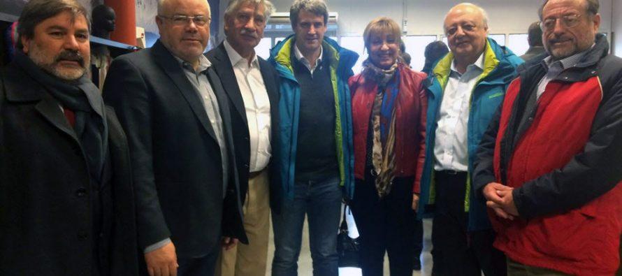 Autoridades sanjuaninas se reunen con presidente  del BID y ministro de Hacienda argentino