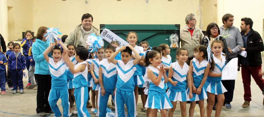 Escuelas de Paihuano celebraron el Día del Desafío