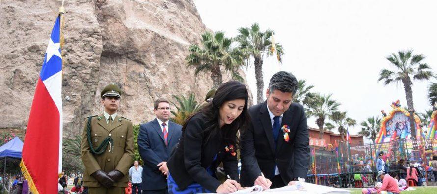 GORE Coquimbo acuerdo de cooperación por escasez hídrica con Arica y Parinacota