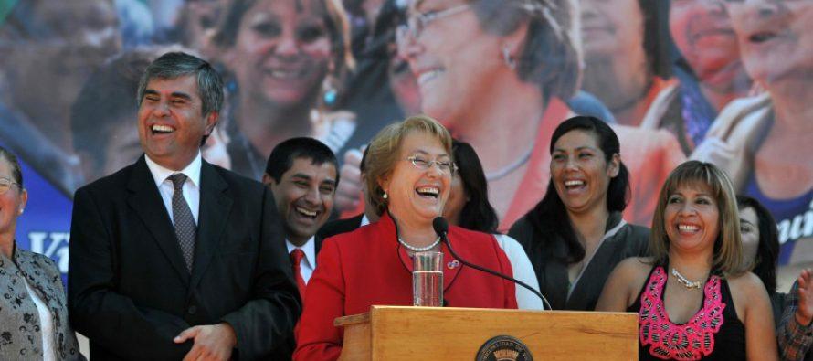 Presidenta Michelle Bachelet inaugura hoy la remodelación de la plaza de Vicuña