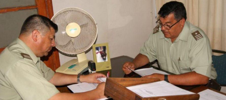 Vecinos de Montegrande sostienen reunión con Carabineros y representantes del municipio