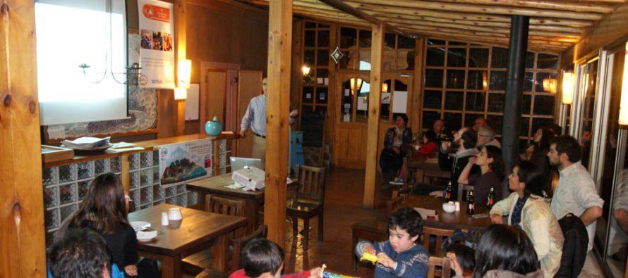 Ceaza ofreció café científico en Pisco Elqui