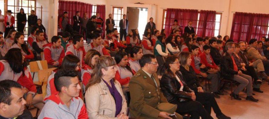 Liceo Mistraliano de Paihuano celebró 11 años de vida en el servicio de la comunidad educativa
