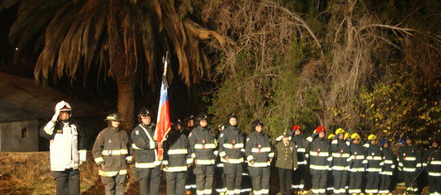 En Montegrande fue recordado el primer mártir de Bomberos de Vicuña