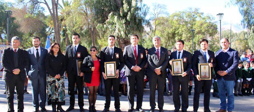 Con reconocimientos a su gran labor en Vicuña PDI es homenajeado en su aniversario N°83