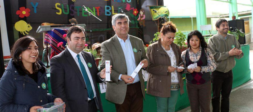 Ejecutan proyecto escolar que busca hacer un rescate de semillas locales y nativas en Peralillo