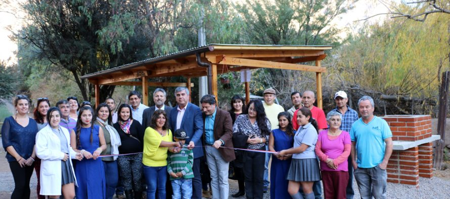 Localidad de Rivadavia cuanta con tres nuevos espacios públicos para la comunidad
