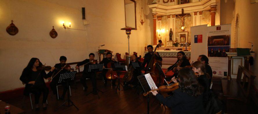 Peralillo fue el escenario del II Concierto de Temporada de Cámara de la ULS