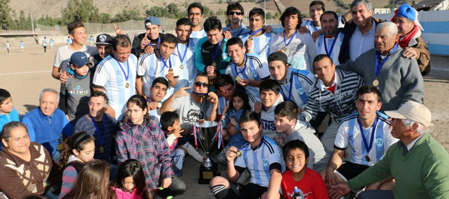 Club Deportivo Joaquín Vicuña se coronó campeón de la segunda división del ANFA