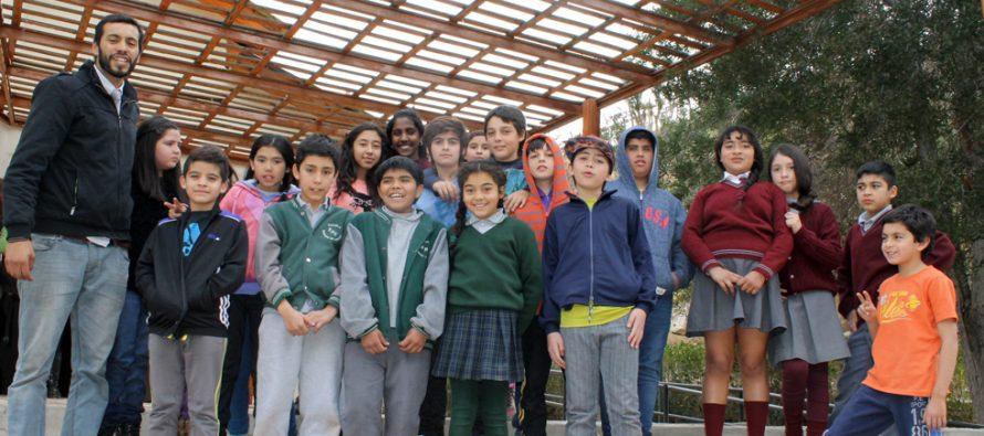 """Concurso de deletreo en inglés """"Spelling Bee"""" estimula a los niños a este idioma en Paihuano"""