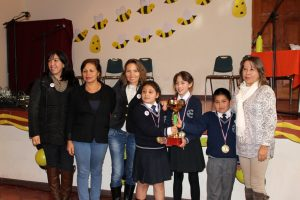 Montegrande 1er lugar 5to Spelling Bee