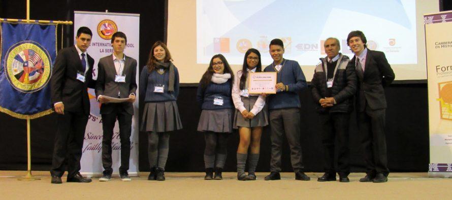 Estudiantes de Vicuña y Paihuano participan en III Parlamento Juvenil por la Paz y la Solidaridad