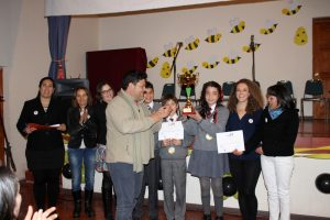 Pisco Elqui 1er lugar 6to Spelling Bee