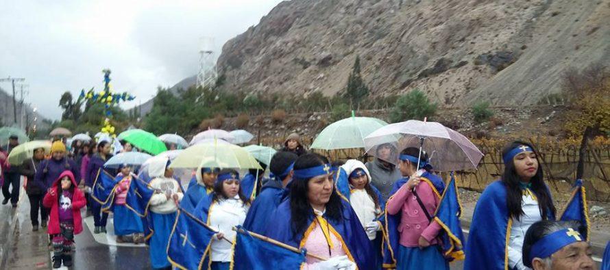 Chapilca celebra la tradicional fiesta religiosa la Cruz de Mayo