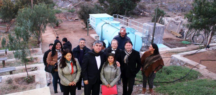 Vecinos de Rivadavia cumplen anhelo de reparar su planta de tratamiento