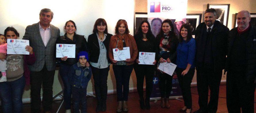 Mujeres de Vicuña son certificadas por su participación en el programa Apoyo a la Dinámica Familiar impartido por Fundación PRODEMU