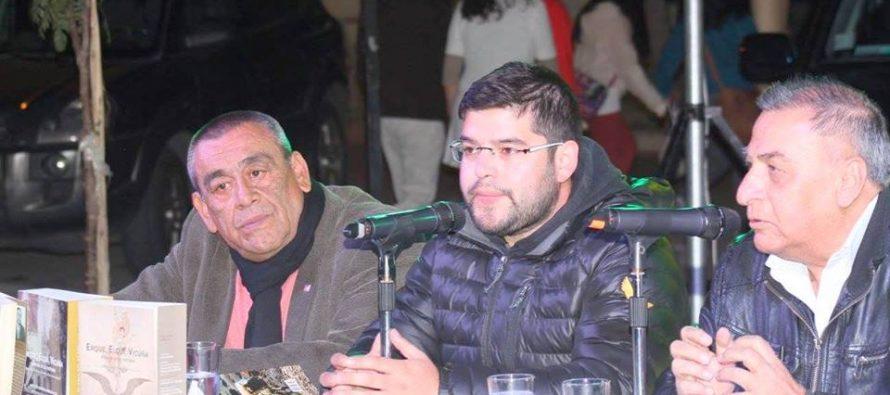 Editor Cultural de Elquiglobal.cl presenta su libro en Feria del Libro de Vicuña