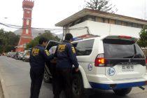 PDI  detiene a 152 personas en el mes de junio en la Provincia de Elqui