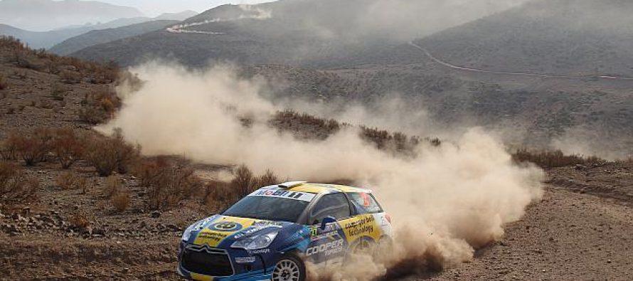 RallyMobil: Cristóbal Vidaurre se adjudica etapa sabatina en Vicuña