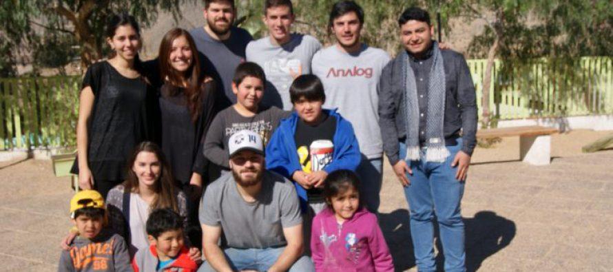 Estudiantes de la Universidad de Los Andes realizaron voluntariado en Montegrande