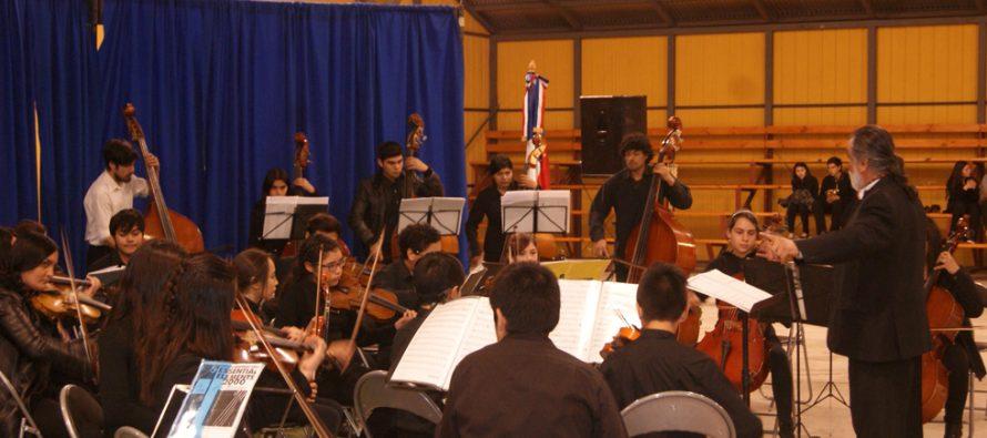 Orquesta de Niños del Valle de Elqui ofreció concierto de cámara en Paihuano