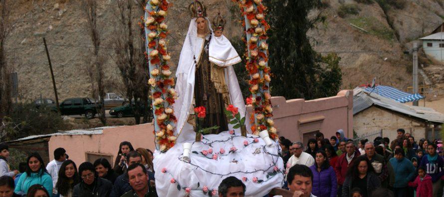 Horcón celebró su fiesta patronal con gran concurrencia de fieles