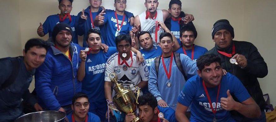 Club Deportivo Diaguitas se coronó campeón del torneo de apertura de ANFA Vicuña