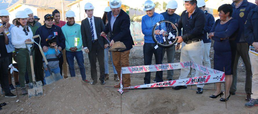 Comienza construcción de primer SkatePark para Vicuña