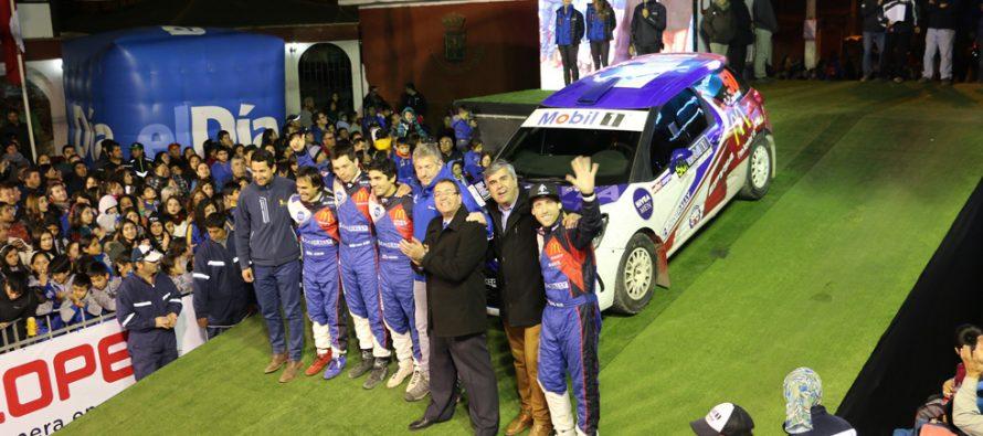 Mamalluca: Con éxito se desarrolló la Super Especial Nocturna del RallyMobil en Vicuña