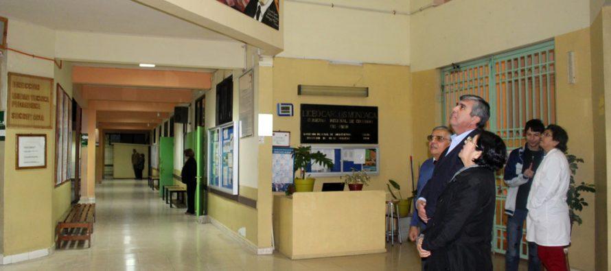 En cuenta pública destacan desarrollo de área técnico profesional en liceo Carlos Mondaca