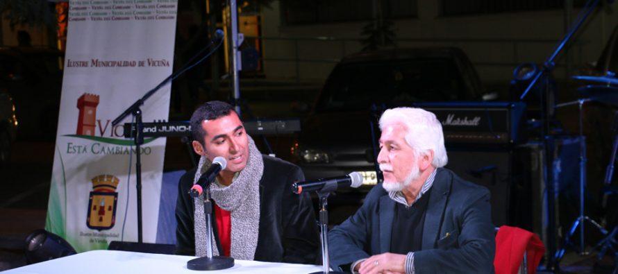 La plaza Gabriela Mistral se llena de literatura y música con la Feria del Libro de Vicuña