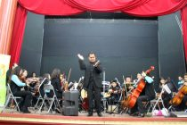 Orquesta sinfónica Pedro Aguirre Cerda deleitó al público escolar con repertorio latinoamericano