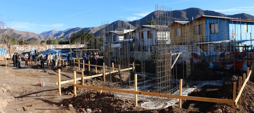 Comienza construcción de nuevas sedes vecinales en  Vicuña a través del programa Quiero Mi Barrio