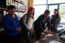 Se oficializa entrega de terreno a 60 familias de El Arrayán para la construcción de sus casas
