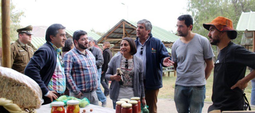 Con éxito de convocatoria se desarrolló la II Feria Rural Campesina de Vicuña