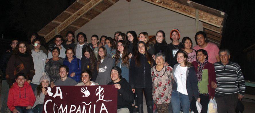 Jóvenes Legionarios de Cristo construyeron capillas en la comuna de Vicuña