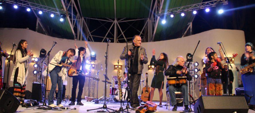 """Presentan exitoso estreno de """"Mamalluca un Viaje Sinfónico"""" en Plaza Gabriela Mistral de Vicuña"""